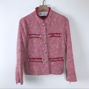 Zara tweed jacket NWT medium